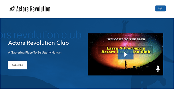 Actor's Revolution Club