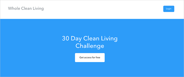 30 Day Clean Living Challenge