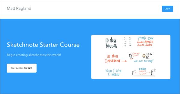 Sketchnote Starter Course