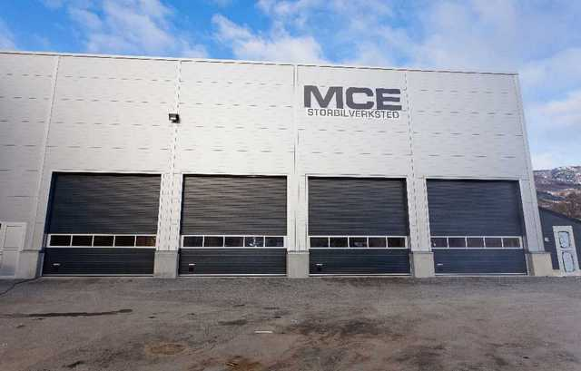 Bilde at MCEs hovedbygg i Etne.