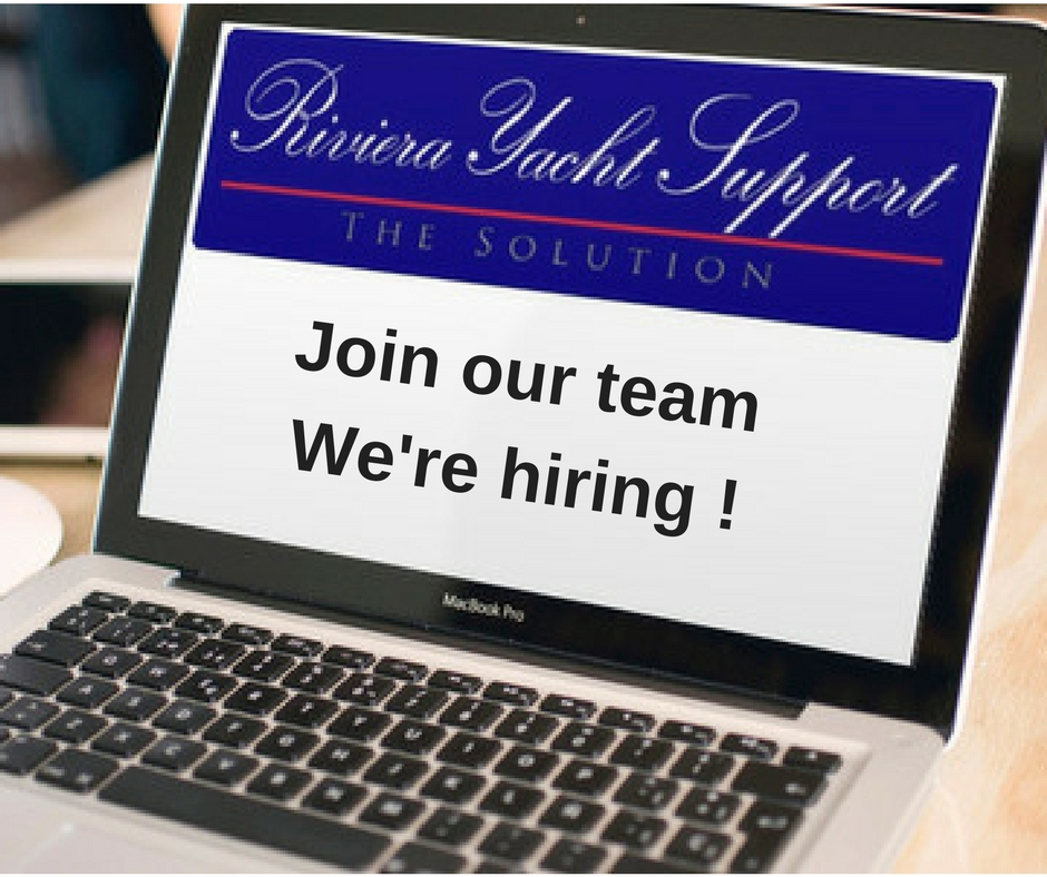 WE'RE HIRING!   Join our Antibes office