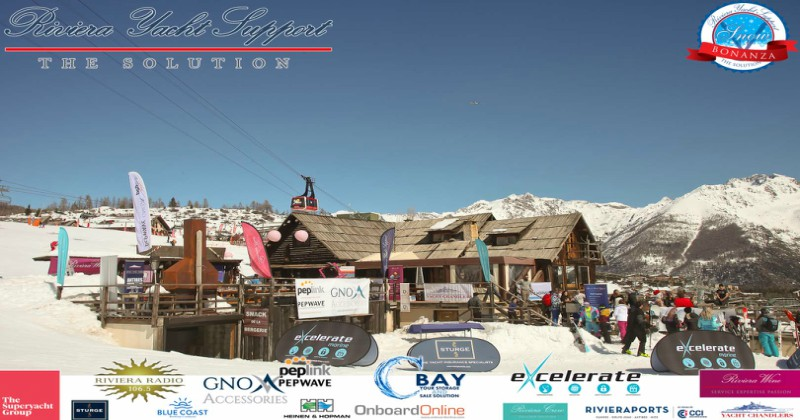 VIDEO : Riviera Yacht Support Snow Bonanza 2018