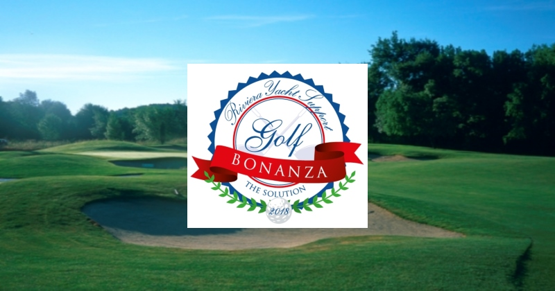 SAVE THE DATE!  Riviera Yacht Support Golf Bonanza 2018