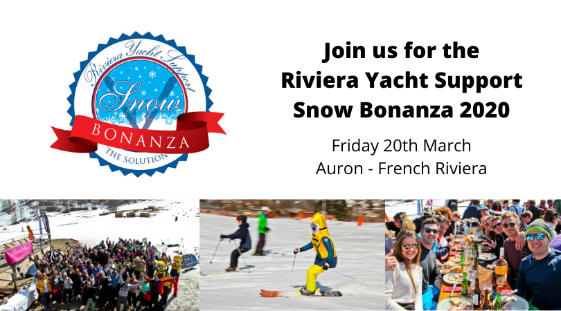 Join us for the Riviera Yacht Support Snow Bonanza 2020 !