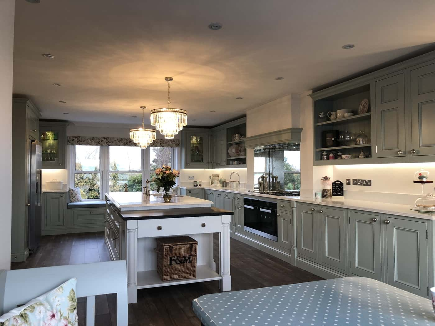 Working With Leanne Bowers From Old School Kitchen Company, We Were Able To  Provide This Wonderful Splashback. Which Was Installed In A Private  Residence In ...