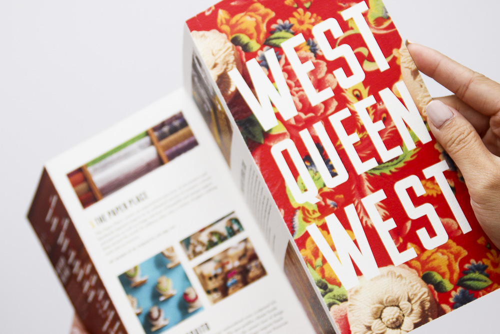 West Queen West tourist pamphlet