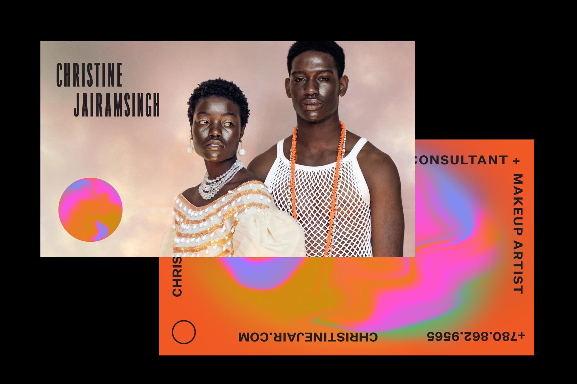 Brand identity for Christine Jairamsingh