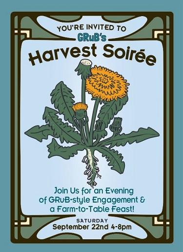 GRuB's Annual Harvest Soirée