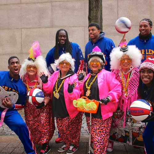 Red Hot Mamas and the Harlem Globetrotters