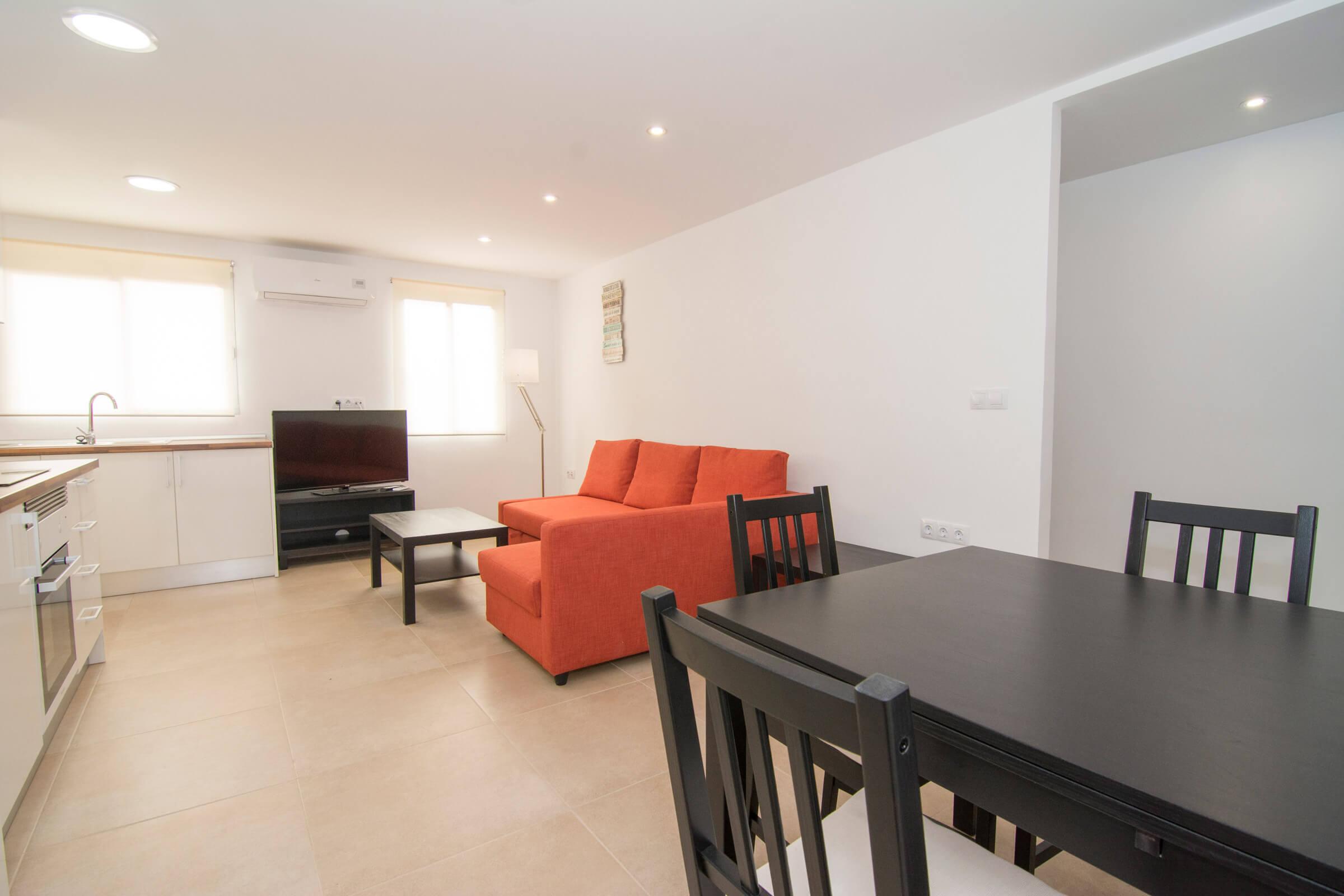 Holaflats shared living area