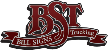 Bill Signs Trucking Logo