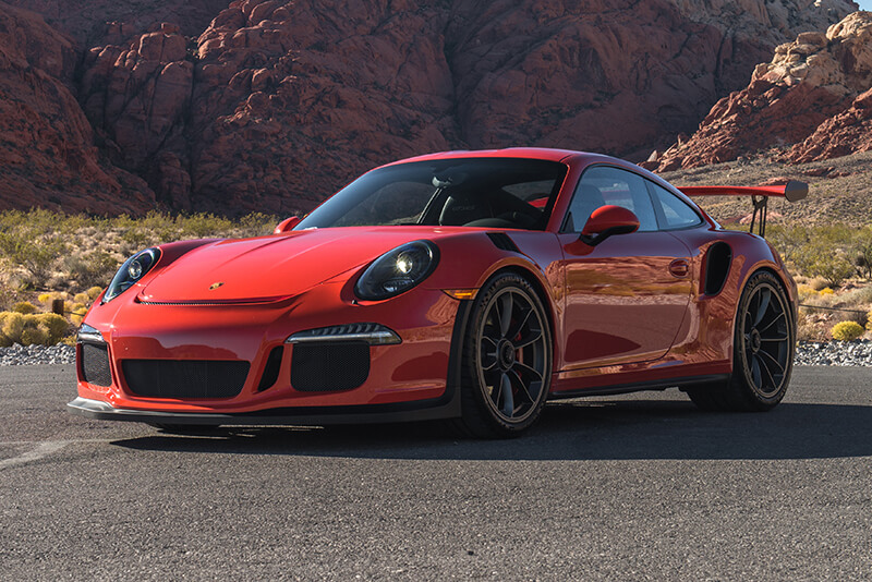 Rent A 2016 Porsche 911 Gt3 Rs In Las Vegas