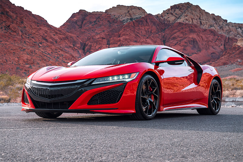Acura Exotic Car >> Rent A 2017 Acura Nsx In Las Vegas