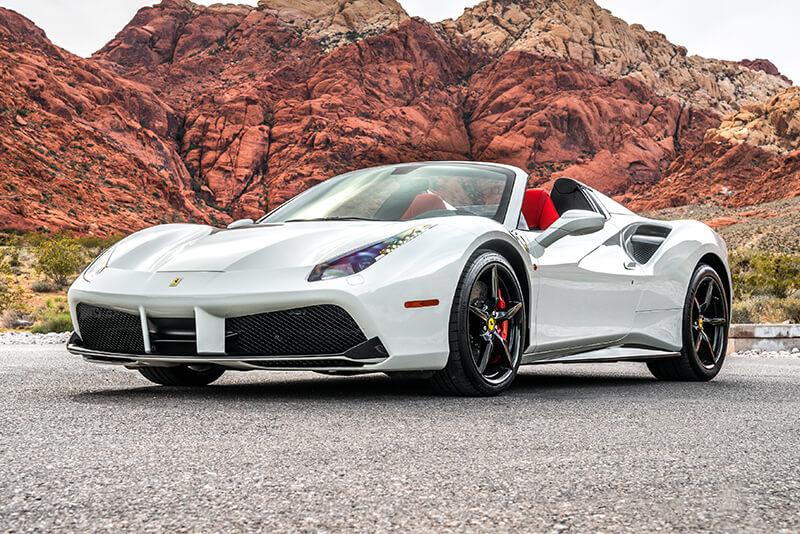 Bmw Of Las Vegas Motorcycles >> Rent a 2018 Ferrari 488 Spider in Las Vegas!