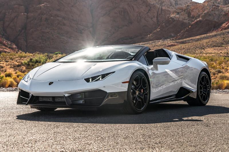 Jeep Wrangler Rental Las Vegas >> Rent a 2018 Lamborghini Huracán Spyder in Las Vegas!