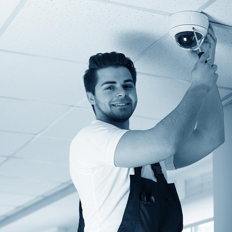 Installation kameraövervakning