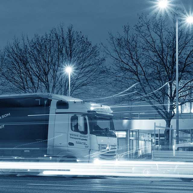 GPS baserad spårningsutrustning för lastbil