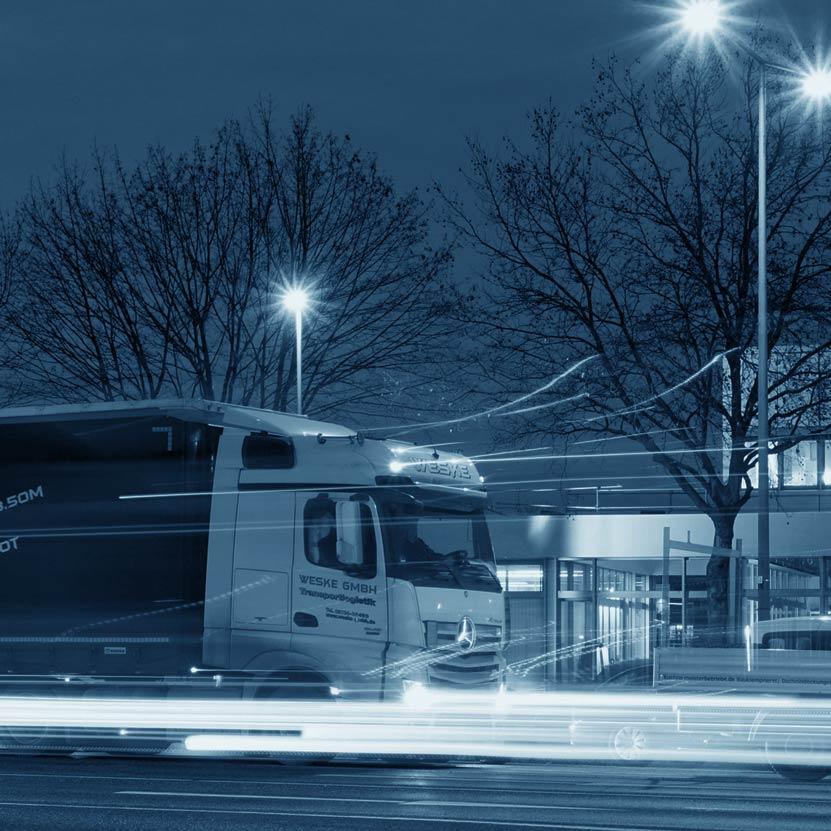 Säkerhetslösningar för lastbil och transport