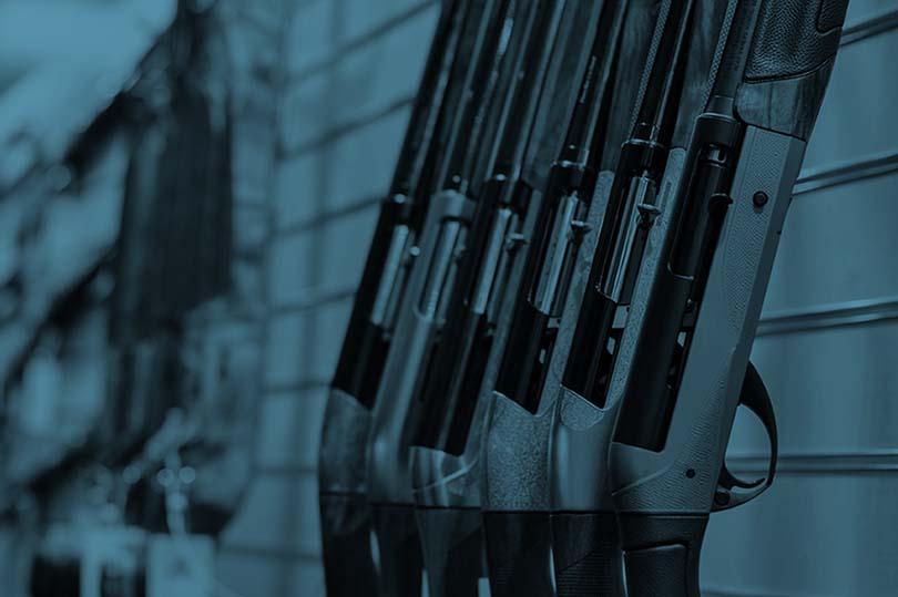 Säkerhetslösningar för vapenförvaring