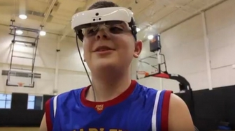 Special Eyewear Allows the Legally Blind to See (and Play Basketball with the Harlem Globetrotters)