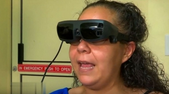 From legally blind to clear vision - thanks to eSight