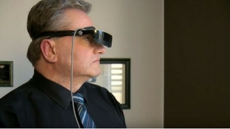 How technology is helping one man see again