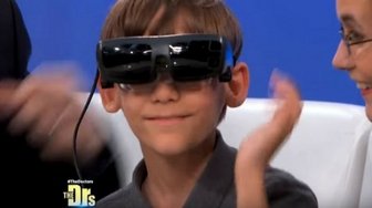 9 year old Ben gets eSight live on CBS's The Doctors