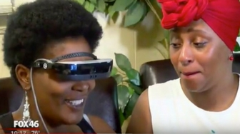Legally Blind Mother Sees Family Again with Pair of High-Tech Glasses