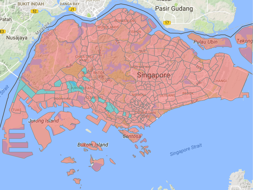 Here is how the full-day closure of 19 MRT stations affected travel patterns in Western Singapore