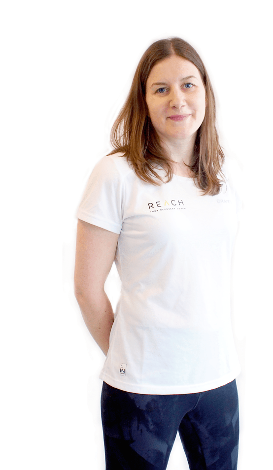 Image of reach's physio Kate Robson