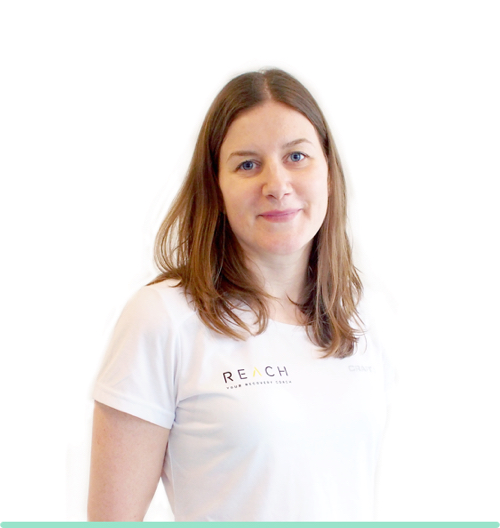 small image of reach's physio Kate Robson