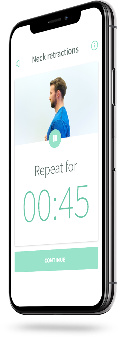 Image of how reach's physio app looks like