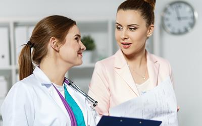 Plan participation explained to a patient