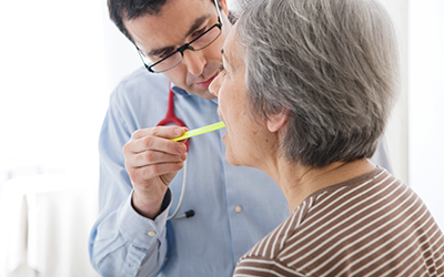 An Otolaryngologist treats patients for Sinus Inflammation and Pressure