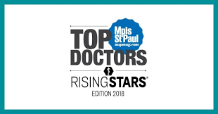Dr. Wudel was recognized as local Top Doctors-Rising Star for 2018