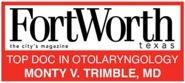 "Fort Worth magazine ""Top Doc"" award"