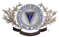 American Board of Otolaryngology emblem