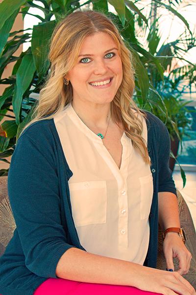 Audiologist Erin Hattey