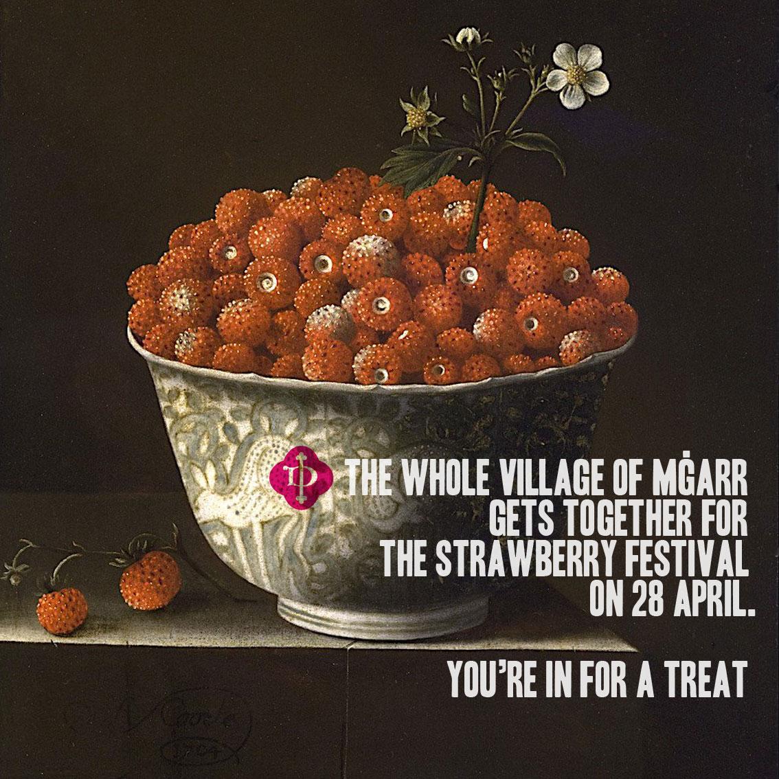 The Mġarr strawberry Festival