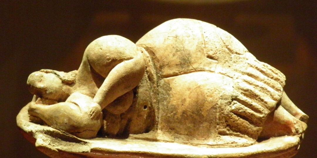 The Sleeping Goddess statuette