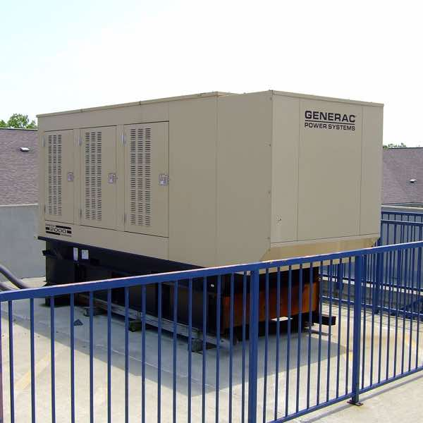 Commercial generator system installed by Bolt Electric