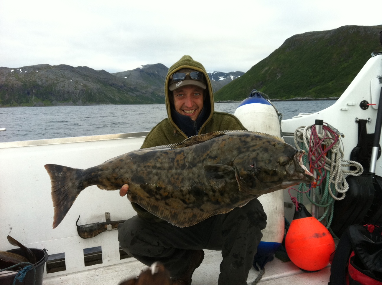 Hunting for the massive halibut with a guide
