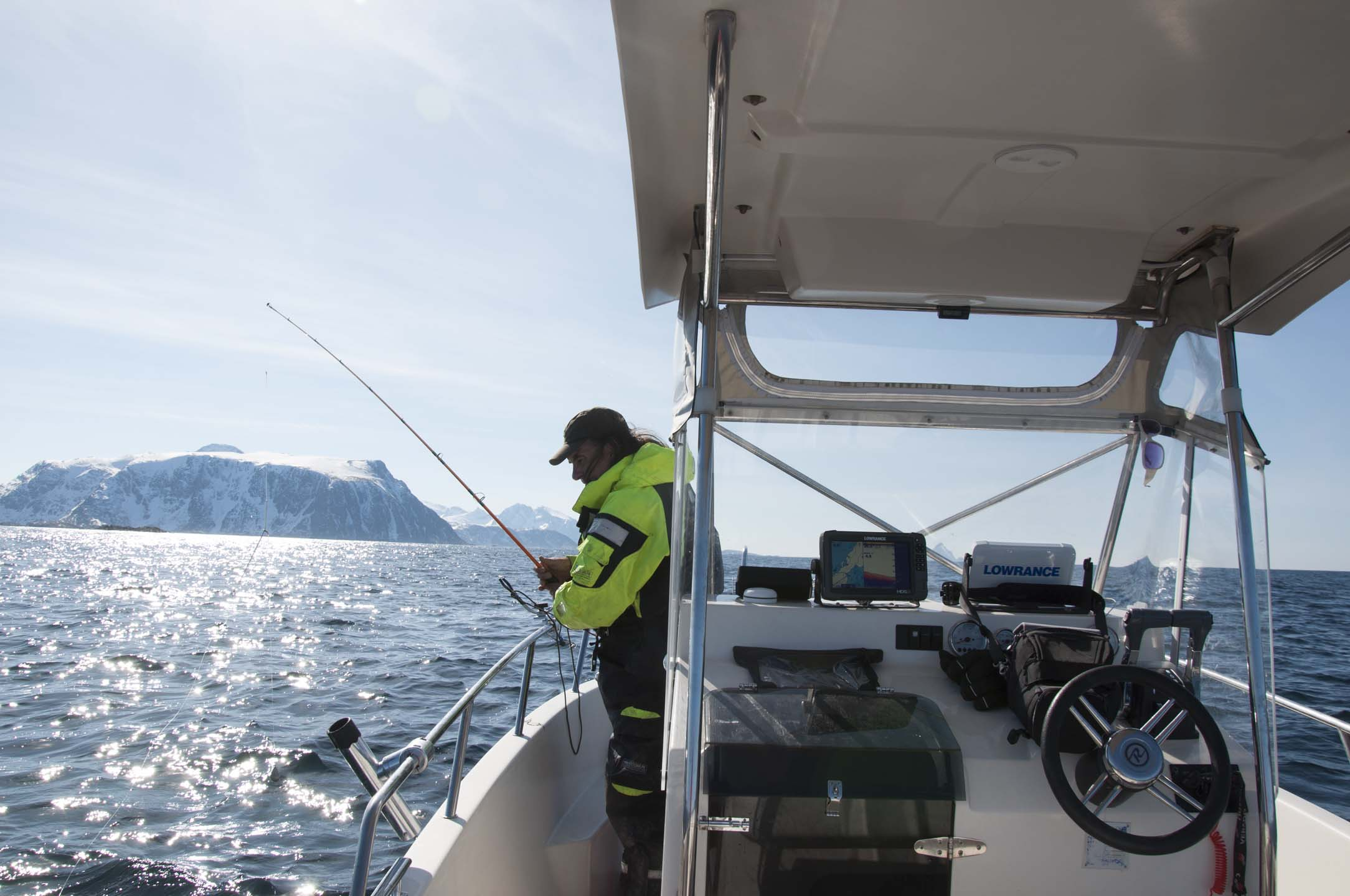 Cod fishing with guide