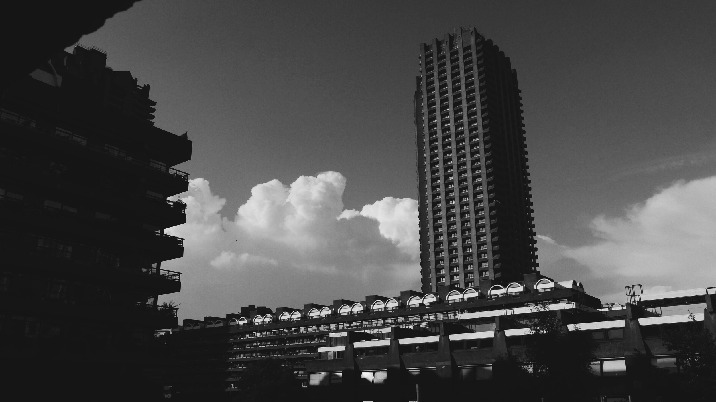 Towering the Barbican
