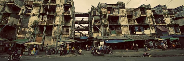 Definition of urban poverty and slums in Cambodia