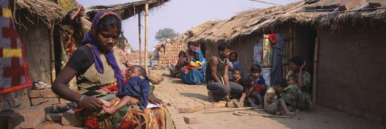 remote rural village in India