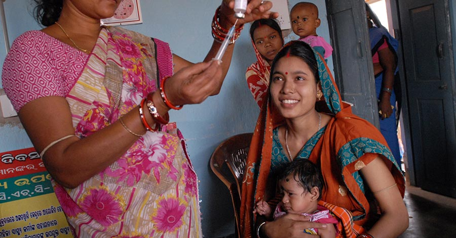 Poverty and health care system in India