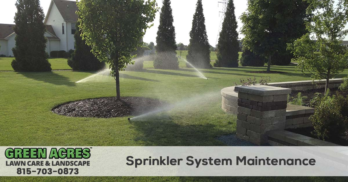 Sprinkler system repairs in Illinois