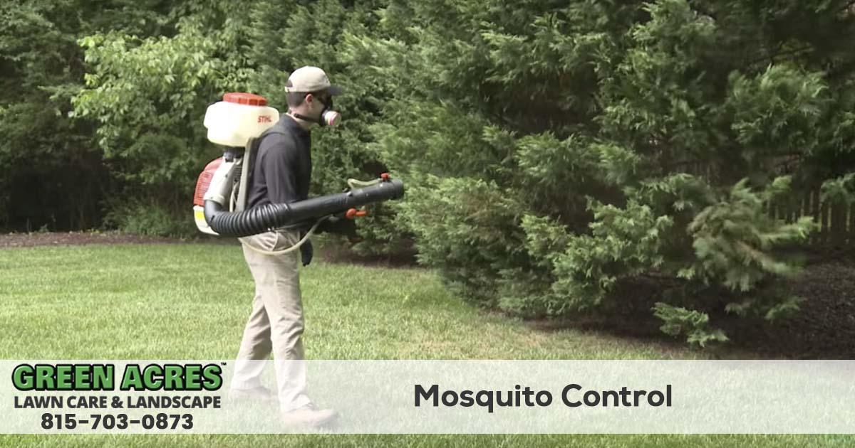 Mosquito control service in Illinois