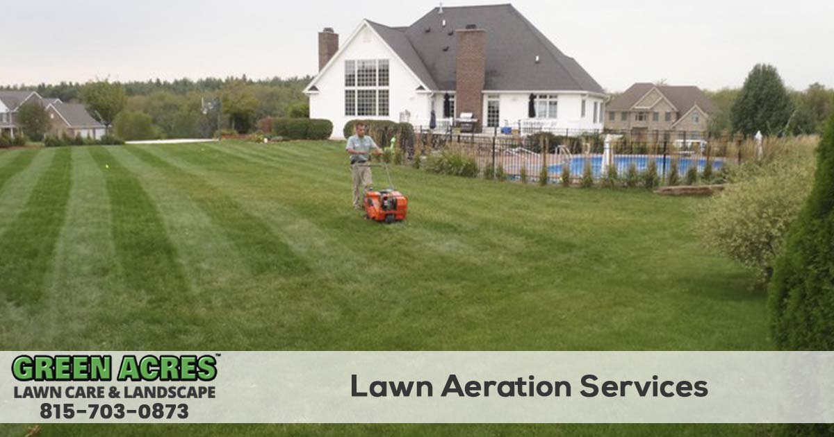 Lawn Aeration services in Illinois